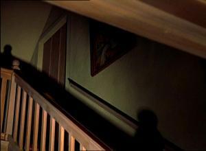 Brennenin talon yläkertaan johtavat sisäportaat