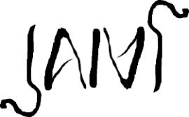 Jani, kirjoitettuna kiertosymmetrisesti