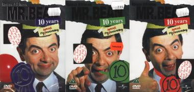 Kolme Mr. Bean 10 years -dvd:tä
