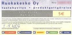 Keskon tuotehyvityskuponki (5 euroa)
