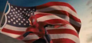 Hämähäkkimies ja USAn lippu