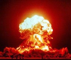 XX-34 BADGERin räjäytys Nevadassa 18. 4. 1953