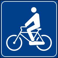 Italialainen polkupyöräilijäliikennemerkki