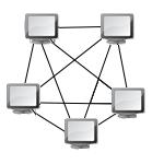 Ylösalainen pentagrammi -topologia