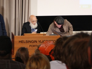 James Randi luennoi Porthaniassa