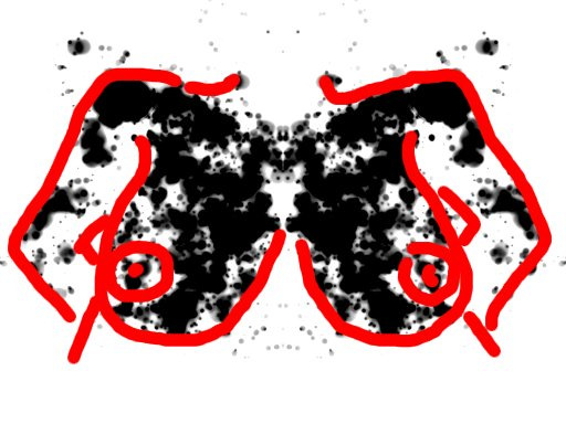 Venusveistoksen povi -tulkinta musteläiskästä