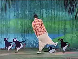 Dick Van Dyke ja pingviinit