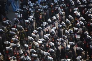 Egyptin mellakkapoliisi