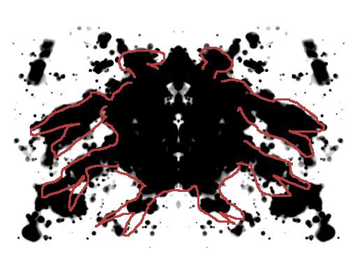 Taskurapu-tulkinta musteläiskästä