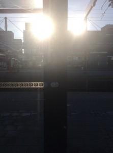 Kaksi aurinkoa Sellon yllä