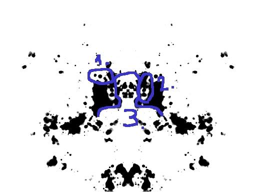 Oopperan kummituksen naamio, kasvot ja avaruusolento -tulkinta musteläiskästä
