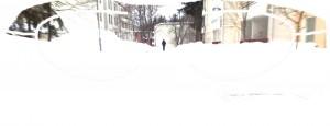Gesterbynpolku kirkkaalla säällä