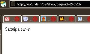 Sattuipa error
