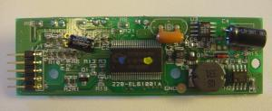 The PCB bared, from component side